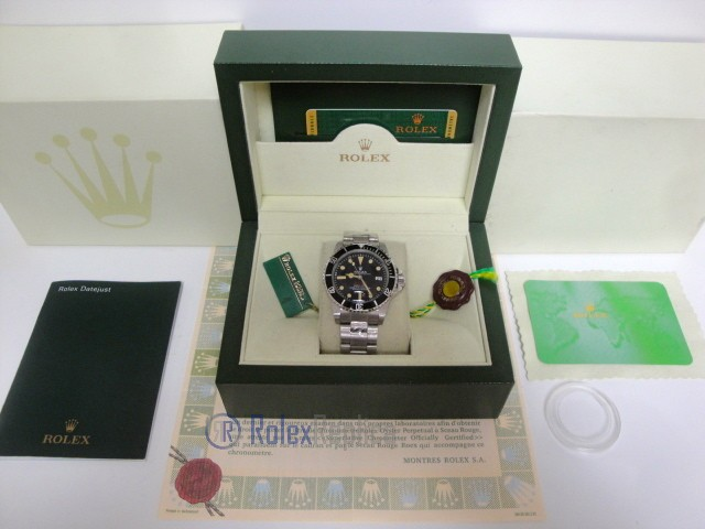 rolex replica seadweller comex vintage red writing orologio replica copia
