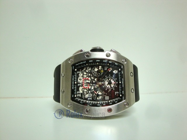 richard mille replica RM011 Felipe Massa titanium limited edition strip rubber-b