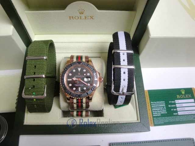rolex replica yacht master I rose gold in cordura by gucci orologio replica