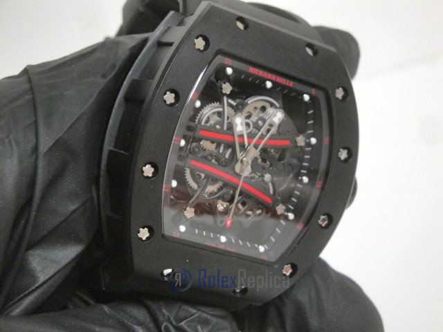 richard mille replica RM61-01 baby blake pvd skeletron limited edition strip rubber-b