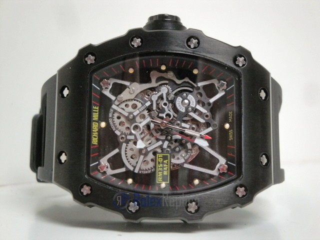 richard mille replica RM35-01 AOCA-203 rafael nadal pro-hunter pvd limited edition
