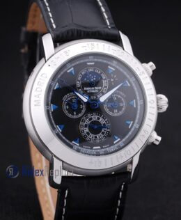 audemars piguet replica chrono president of the USA strip leather imitazione copia