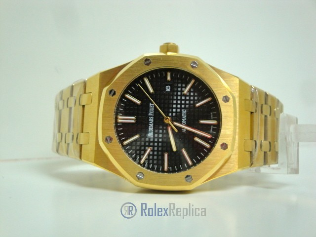 audemars piguet replica royal oak jumbo oro giallo black dial imitazione copia