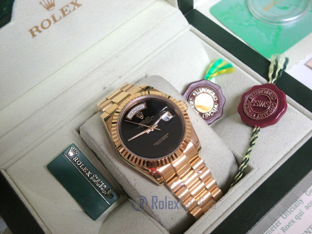 Rolex replica day-date oro giallo black dial individual edition