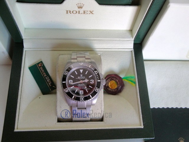 rolex replica submariner ceramica blaken black dial edition orologio replica copia imitazione
