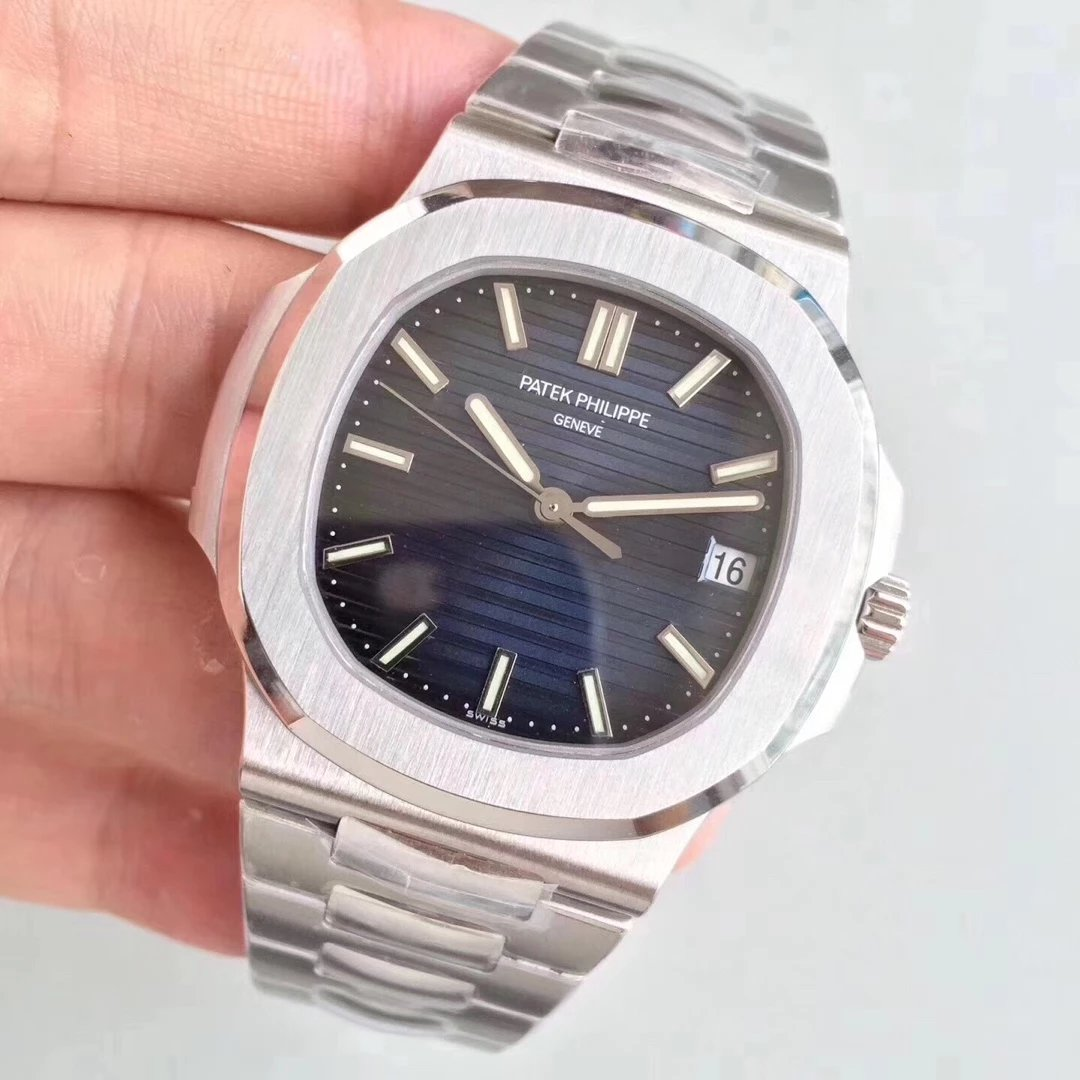 patek philippe replica nautilus 5711 blue dial clone movement 324 SC