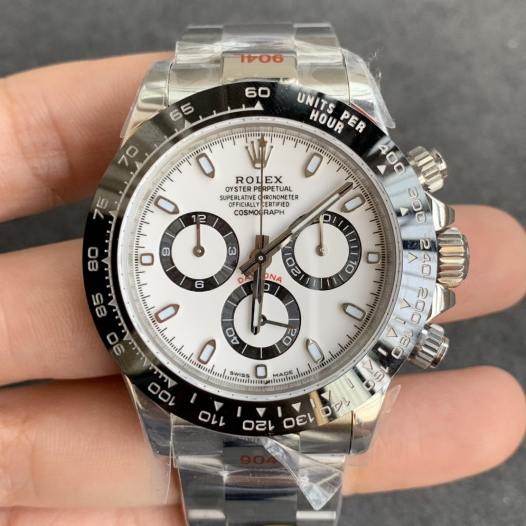 ROLEX REPLICA DAYTONA 116500 WHITE DIAL CLONE MOVEMENT 4130
