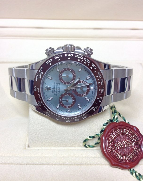 Rolex replica Daytona 116506 Platinum Ice Blue Dial