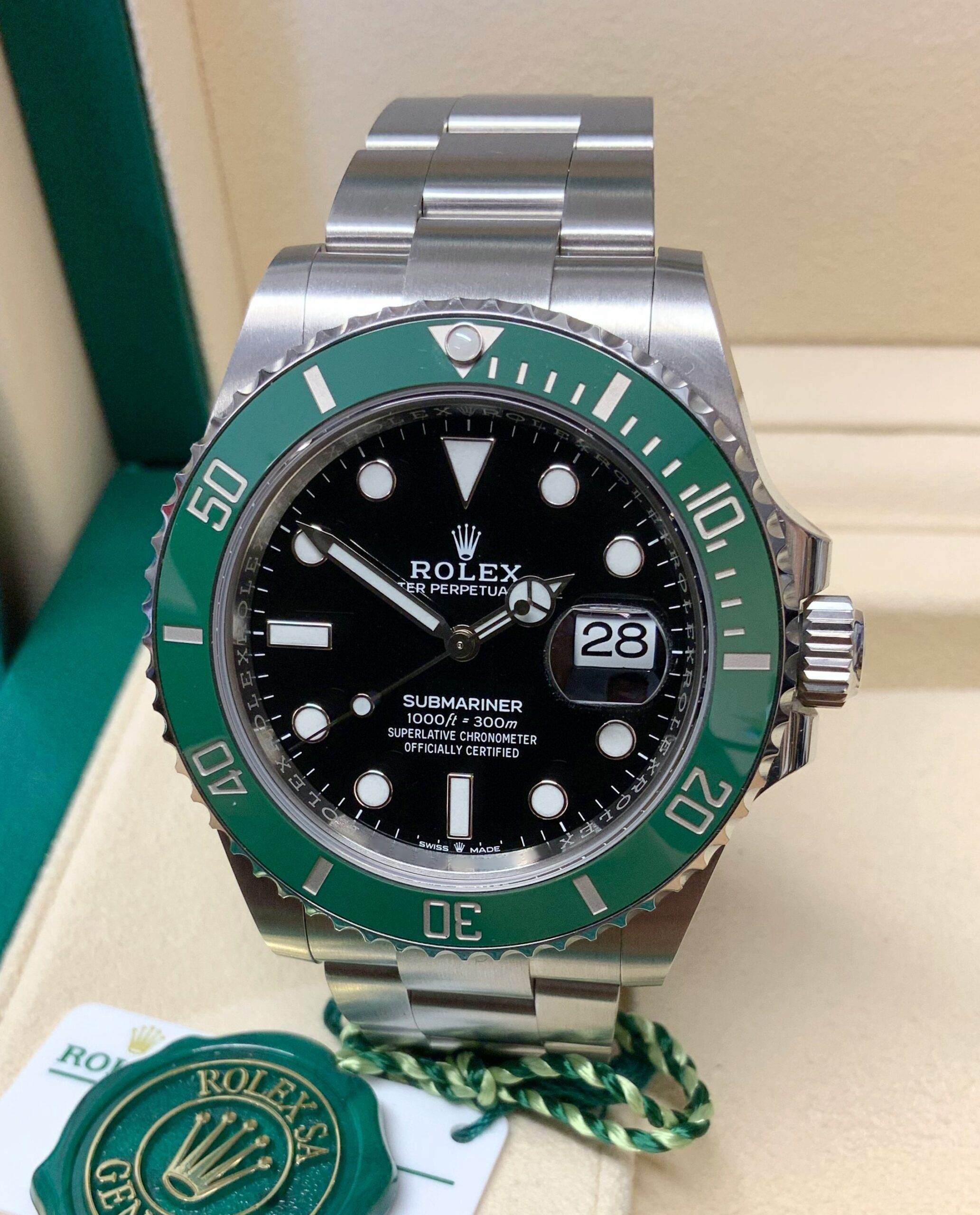Rolex replica submariner hulk date 126610LV orologio replica 41mm my2020