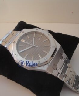 audemars piguet replica royal oak jumbo argento scuro imitazione copia