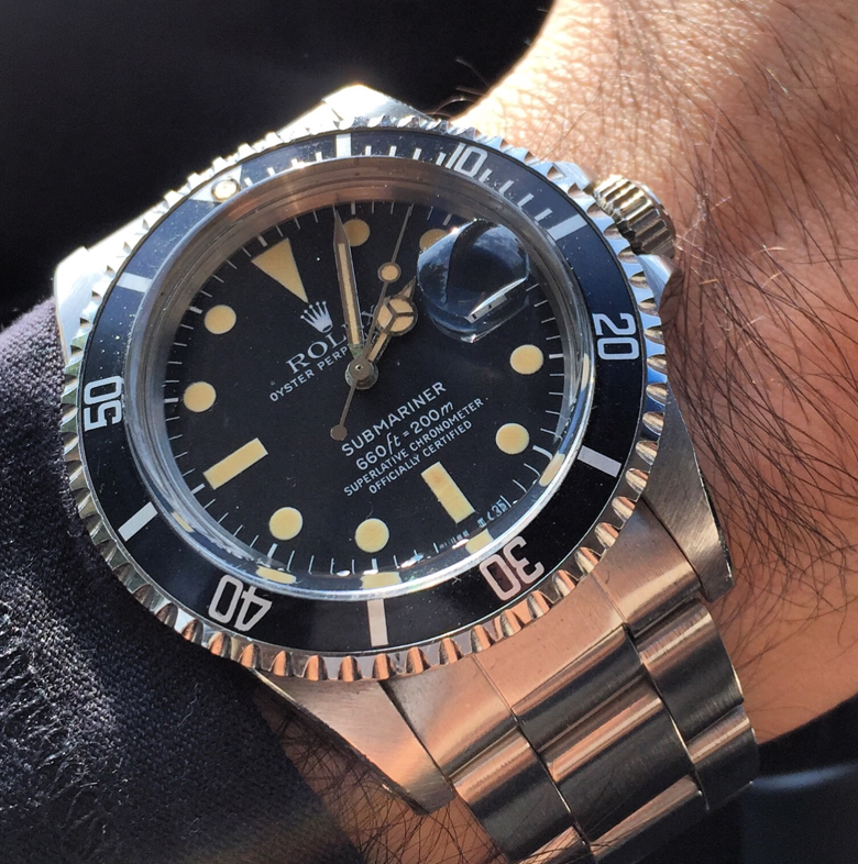 rolex replica submariner vintage 1680 black dial edition orologio replica copia imitazione